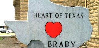 Brady, The Heart of Texas